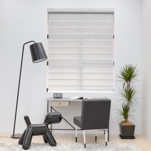 Baagus Curtain Sheer Malaysia Blender – Grey 1