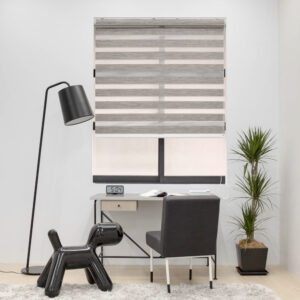 Baagus Curtain Sheer Malaysia Blender – Brown 3