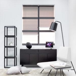 Baagus Curtain Sheer Malaysia Bold Peforated – Black 2