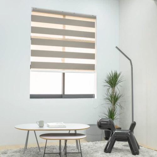 Baagus Curtain Sheer Malaysia Broad – Brown 2