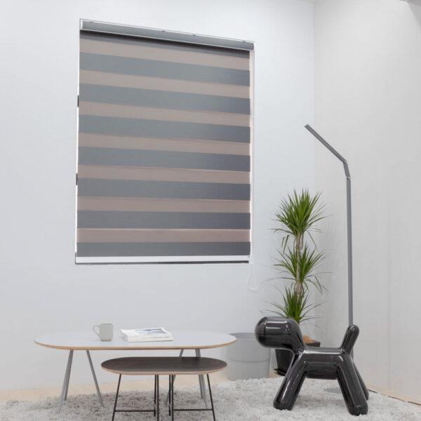 Baagus Curtain Sheer Malaysia Broad – Dark Grey 1