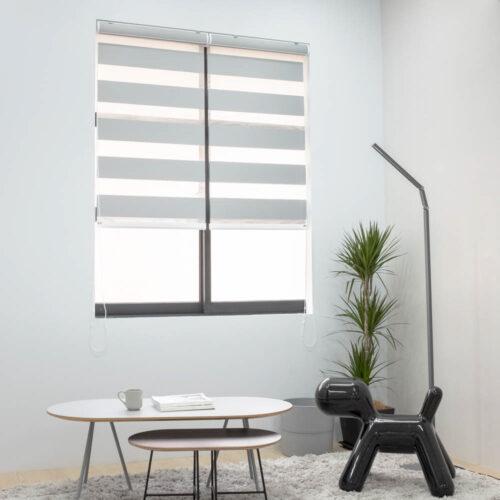 Baagus Curtain Sheer Malaysia Broad – Light Grey 1