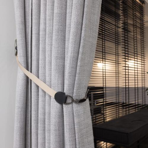 Baagus Curtain Sheer Malaysia Buckle – Beige 2