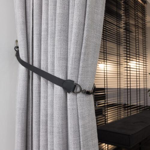 Baagus Curtain Sheer Malaysia Buckle – Black 2