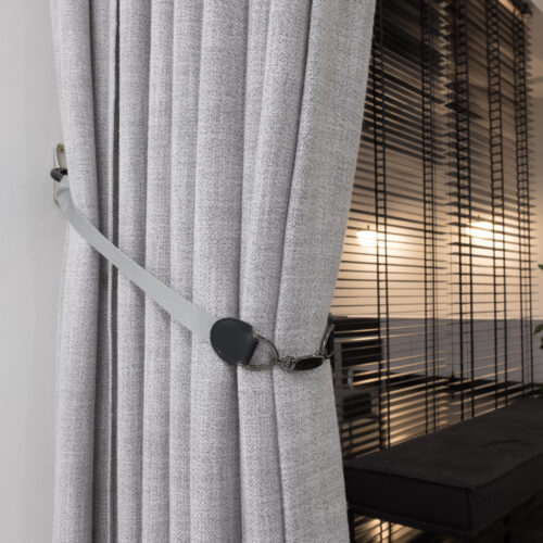 Baagus Curtain Sheer Malaysia Buckle – Grey 2