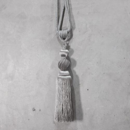 Baagus Curtain Sheer Malaysia Classy Velvet – Grey 1