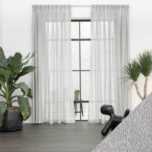 Baagus Curtain Sheer Malaysia Cottony Nest Grey 1 01