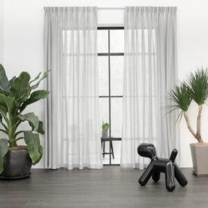 Baagus Curtain Sheer Malaysia Cottony Nest Grey 1