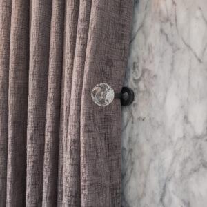 Baagus Curtain Sheer Malaysia Crystal Black 2