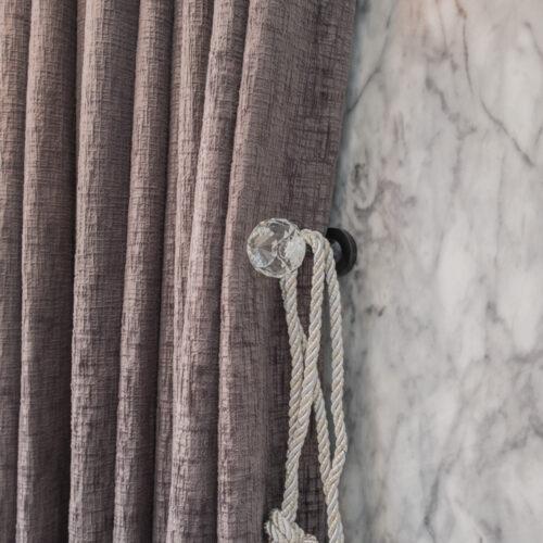 Baagus Curtain Sheer Malaysia Crystal Black 3