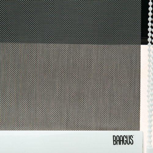 Baagus Curtain Sheer Malaysia Dense Peforated – Brown 3