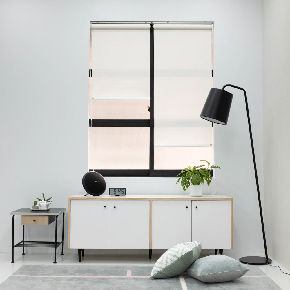 Baagus Curtain Sheer Malaysia Dense Peforated – White 2