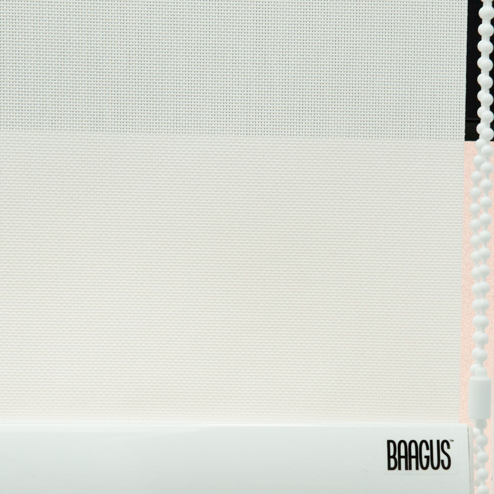 Baagus Curtain Sheer Malaysia Dense Peforated – White 3