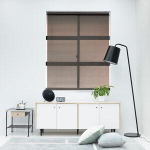 Baagus Curtain Sheer Malaysia Dense Peforated – Bronze 1
