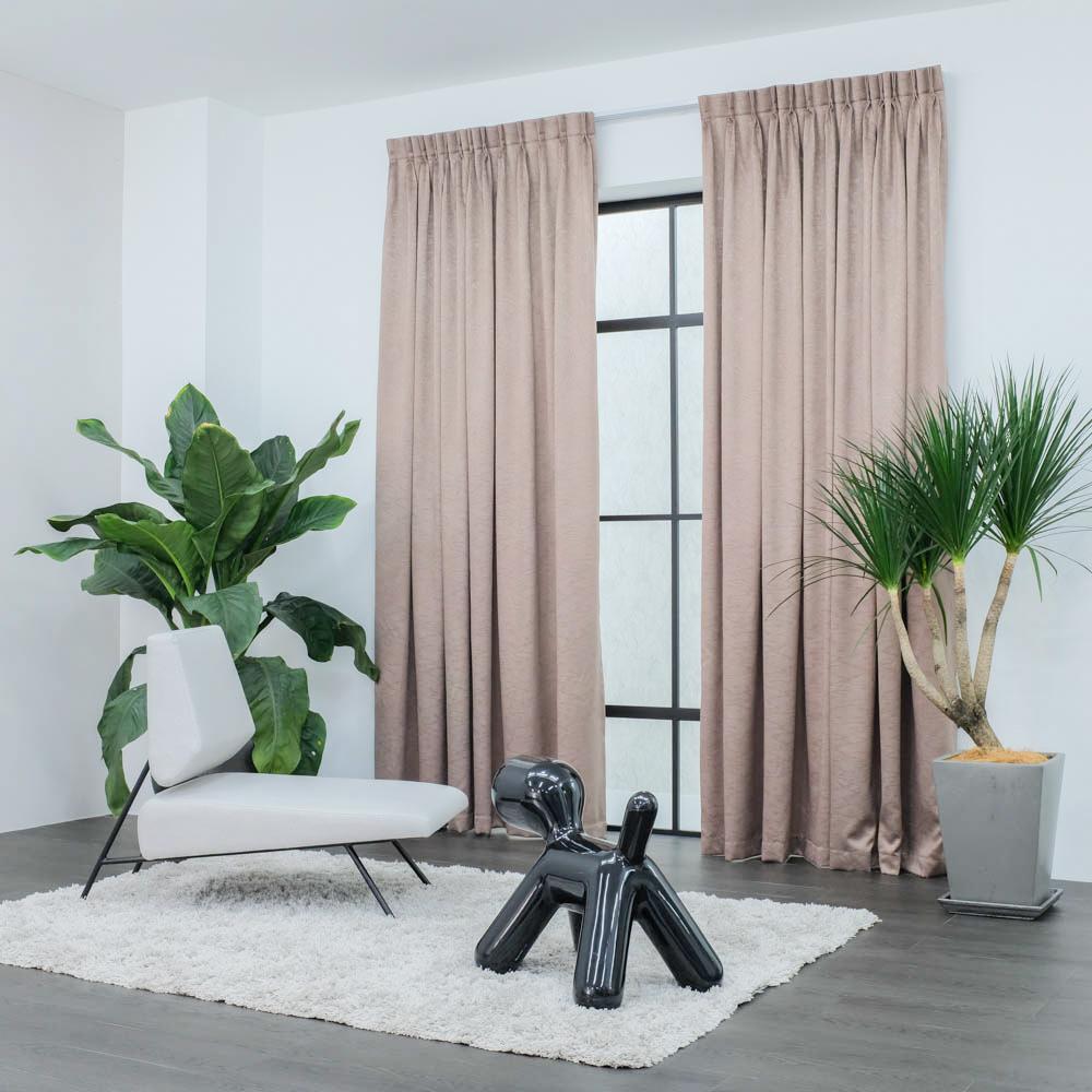 Baagus Curtain Sheer Malaysia Firebolt Brown 2