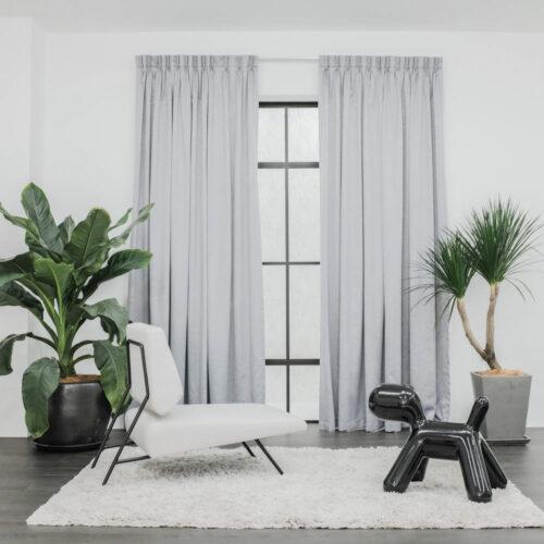 Baagus Curtain Sheer Malaysia Firebolt Grey 1