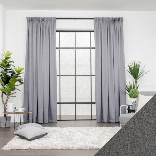 Baagus Curtain Sheer Malaysia Forest Grey 1 01