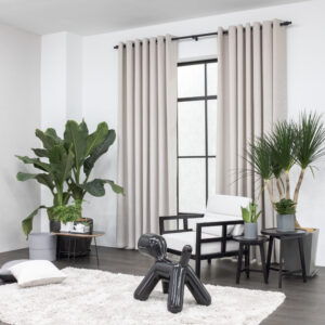 Baagus Curtain Sheer Malaysia Hazy Brown 2