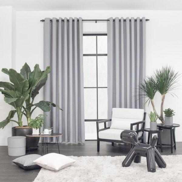 Baagus Curtain Sheer Malaysia Hazy Grey 1