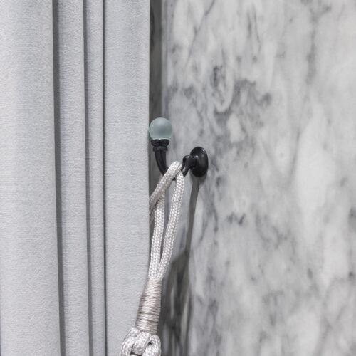Baagus Curtain Sheer Malaysia Hazy Pearl Black 4 1
