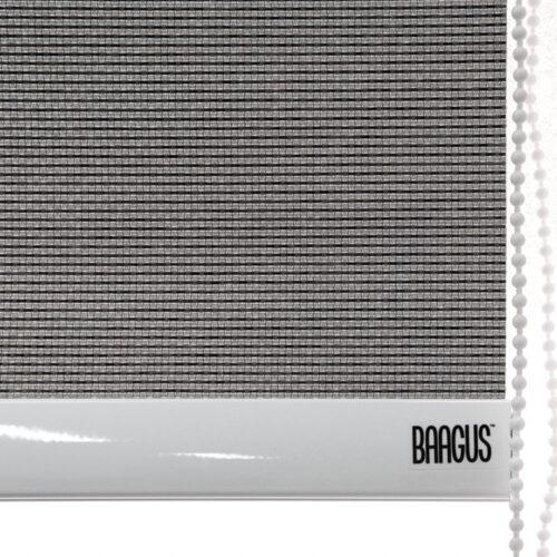 Baagus Curtain Sheer Malaysia Horizontal Dotted – Dark Grey 3
