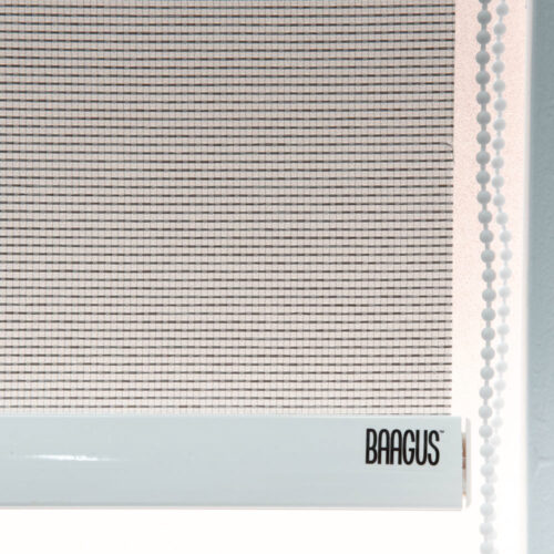 Baagus Curtain Sheer Malaysia Horizontal Dotted – Grey 3
