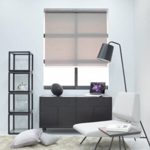 Baagus Curtain Sheer Malaysia Horizontal Dotted – Dark Grey 2
