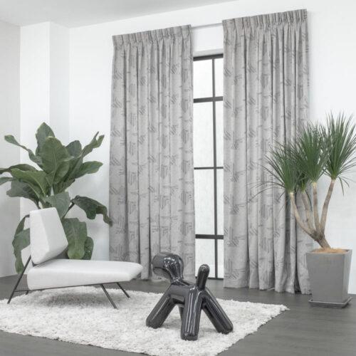 Baagus Curtain Sheer Malaysia Illustratin Brown 2