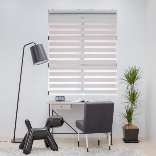 Baagus Curtain Sheer Malaysia Lined – Grey 1