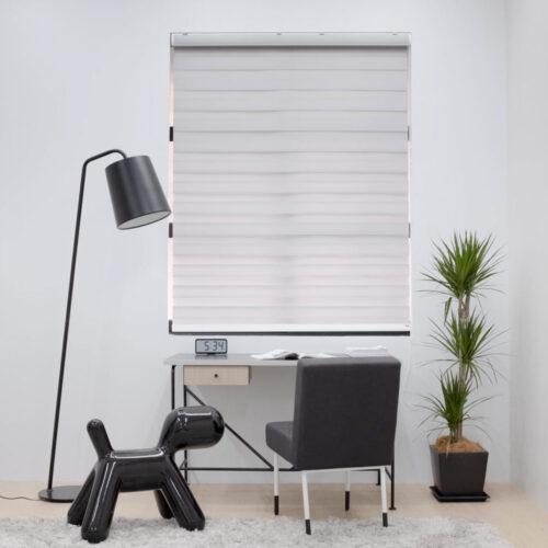 Baagus Curtain Sheer Malaysia Lined – Grey 2