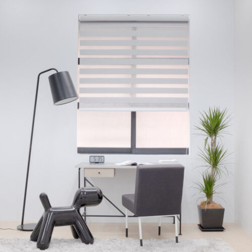 Baagus Curtain Sheer Malaysia Lined – Grey 3