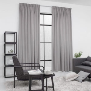 Baagus Curtain Sheer Malaysia Matte Diamond Dark Grey 2