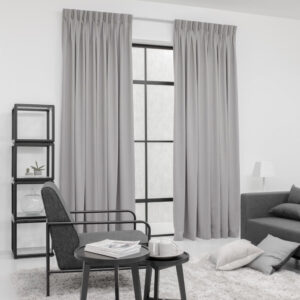 Baagus Curtain Sheer Malaysia Matte Stairwell Dark Grey 2