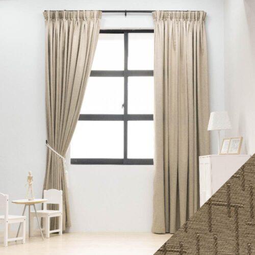 Baagus Curtain Sheer Malaysia Mazee Brown FP 3008 5BR DSC 9764 1 01 1