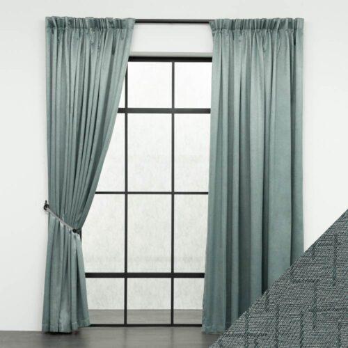 Baagus Curtain Sheer Malaysia Mazee Green FP 3008 7GN DSC 9519 01 01