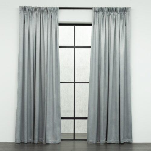 Baagus Curtain Sheer Malaysia Mazee Grey FP 3008 6G DSC 9540