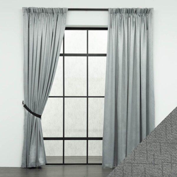 Baagus Curtain Sheer Malaysia Mazee Grey FP 3008 6G DSC 9541 01 01