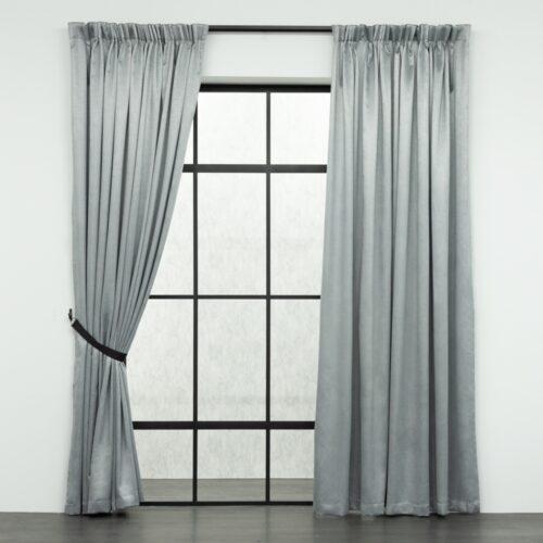 Baagus Curtain Sheer Malaysia Mazee Grey FP 3008 6G DSC 9541