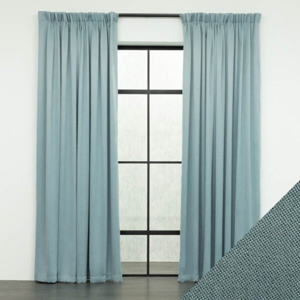 Baagus Curtain Sheer Malaysia Meshy Blue FB Q259 17BL DSC 9558 01