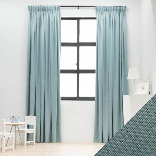 Baagus Curtain Sheer Malaysia Meshy Blue FB Q259 17BL DSC 9779 1 01 1