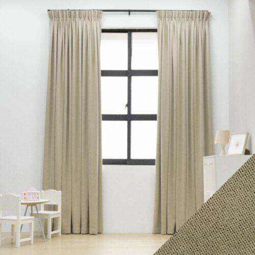 Baagus Curtain Sheer Malaysia Meshy Brown FB Q259 10BR DSC 9774 1 1