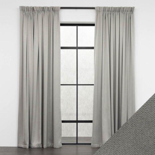Baagus Curtain Sheer Malaysia Meshy Grey FB Q259 09G DSC 9544 01