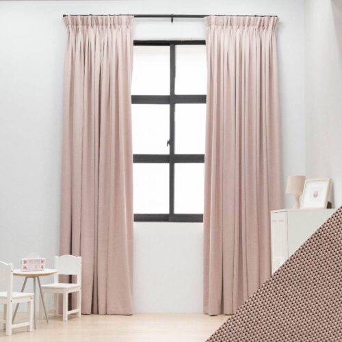 Baagus Curtain Sheer Malaysia Meshy Pink FB Q259 25PK DSC 9777 1 01 1
