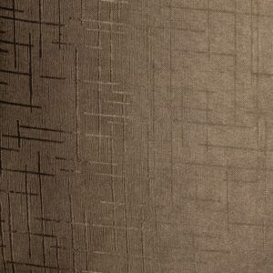 Baagus Curtain Sheer Malaysia Metallic Cross – Brown 8