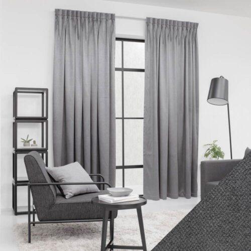 Baagus Curtain Sheer Malaysia Metallic Embossed Grey 2 01