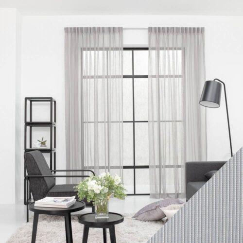Baagus Curtain Sheer Malaysia Mine Square Grey 1 1