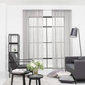 Baagus Curtain Sheer Malaysia Mine Square Grey 1