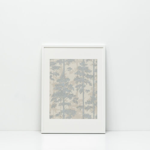 Baagus Curtain Sheer Malaysia Misty Winter Forest with White Frame 10186 3 DSC 8460