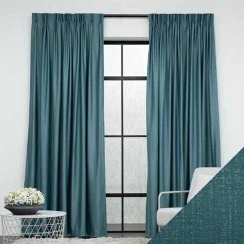Baagus Curtain Sheer Malaysia Musical Green FP 2078 1BL 01