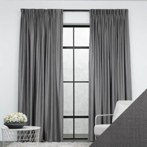 Baagus Curtain Sheer Malaysia Musical Grey FP 2078 4G 01